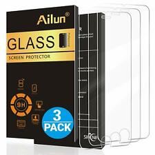 iPhone7 Plus 8 Plus Tempered Glass Anti Scratch Clear Screen Protector 3 PACK