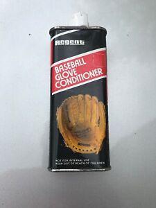 Vintage NOS REGENT Baseball Glove Conditioner Oil can 4-1/2 oz 100% Neet Oil