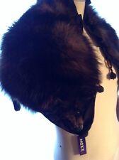VINTAGE BROWN  Fox Fur  Skin/ COLAR