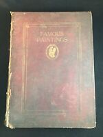 """Vintage 1913 """"Famous Paintings"""" Selected from the World's Great Galleries Book"""