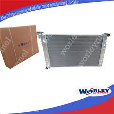 For Holden Commodore Radiator VT VU VX HSV V6 3.8L 97-02 petrol 2-OIL Aluminum
