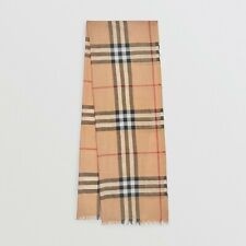 Authentic Burberry Silk Large Floral Print Square Womens Scarf