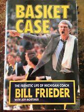 Basket Case - Bill Frieder & Jeff Mortimer Dual Signed Autograph Book Jsa Coa