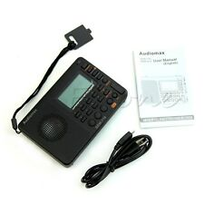 Portable Digital Tuning Lcd Receiver Tf Mp3 Rec Player Fm Am Sw Full Band Radio