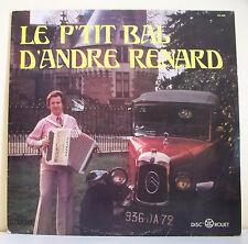 """33T Andre RENARD Disque LP 12"""" LE PETIT BAL Musette Auto Tacot DISCO ROUET 625"""