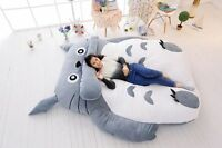 Giant big Single Totoro Cartoon Bed Mattress, Large Bean Bag Lounge high quality
