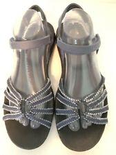 Women's Teva Kayenta Sandals Sz 10 Blue-Gray Open Toe Strappy Hiking 1004888