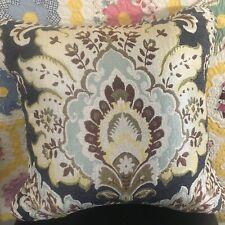 CROSCILL FINNEGAN Decorative Throw Pillow 18 X 18 - NEW