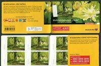 Bund MH 93 postfrisch mit 10 x Nr. 2986 postfrisch Blühende Bäume 2013 MNH