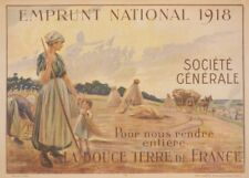 Return to us the Sweet Land of France. Vintage French WW1 Propaganda Poster