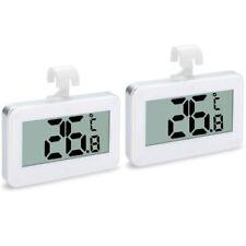 2Pack Refrigerator Thermometer,Digital Waterproof Refrigerator Freezer Tem K4K7