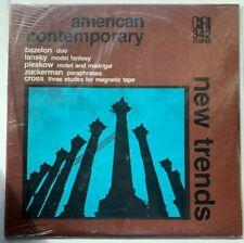 Bazelon, Lansky, Pleskow, Zuckerman, Cross-Contemporary Avant Garde Classical LP