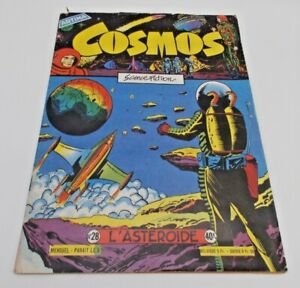 Cosmos Science Fiction - FRENCH Foreign Language Artima 1960s Vintage B&W Comic