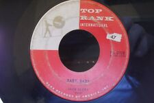 45W JACK SCOTT BABY,BABY / WHAT IN THE WORLD HAS COME OVER YOU TOP RANK RECORDS