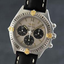 Breitling Callisto Stahl / Gold Chronograph Handaufzug Herrenuhr Ref. 80520