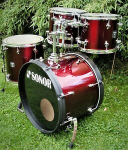 """SONOR """"Sonic Plus""""    ShellSet    22""""/12""""/13""""/16""""   Made in Germany"""