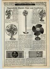 1939 PAPER AD Gilbert Polar Cub Electric Fan Fans Rubber Blades