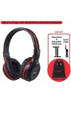 SIMOLIO IR Wireless Headphones for Car DVD/TV with Storage Bag, 2 Channel Car He