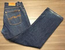 Nudie Jeans Co Mens Regular Alf Dry Heavy Organic Denim 30W x 26L NJ2483