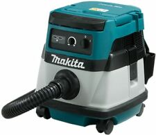 Makita DVC861LZ Twin 18V Cordless / 110V Corded L Class Dust Extractor / Vacuum