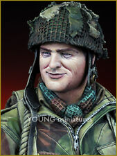 Young Miniatures British Paratrooper WW2 Arnhem 1/10th Bust YM1834 Unpainted kit