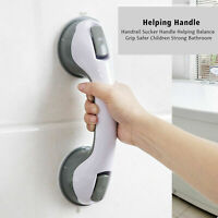 Safety Bath Shower Grip Handle Suction Cup Grab Bar Bathroom Toilet Tub Rail