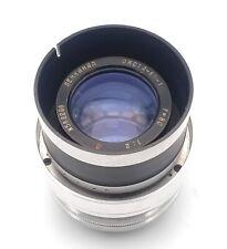 Super rare cinema lens Lomo Oks 1A-80-1 80mm F2.0 Cla'd and converted M42