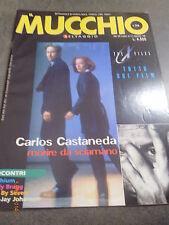 IL MUCCHIO SELVAGGIO n° 316 anno 1998 - THE X FILES IL FILM - CARLOS CASTANEDA