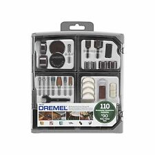 Dremel 110 Piece Rotary Tool Accessory Set With Storage Box Over $90 Value