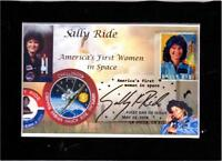 Matted Sally Ride First US Women in Space FDC Analog Cancel DJSPhotoCollages
