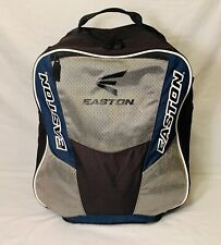 Easton Backpack Bat Bag Baseball-Softball Black/Blue/Silver Great Condition