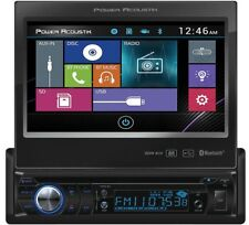 "POWER ACOUSTIK PD-724B 1-DIN CAR DVD CD/MP3 SD USB PLAYER RECEIVER 7"" BLUETOOTH"