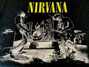 Nirvana t-shirt Größe M schwarz used vintage stuff