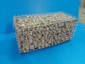 Gabion Basket Wire Stone Cages - Galvanised Wire Mesh (Gardens / Landscaping).