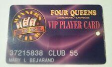 Four Queens Hotel Casino Las Vegas, Nevada Club 55 Slot Players Card!