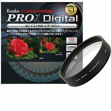 Kenko Close-Up Lens Filter PRO1D AC No.3 49mm Achromatic-Lens  NEW from Japan