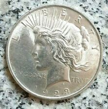 1 Dollar 1923 Silbermünze USA   Peace Dollar