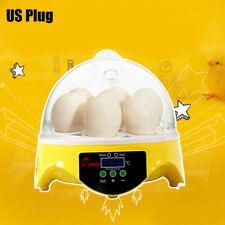 Mini Automatic Digital 7 Eggs Goose Incubator Hatching Machine for Bird Duck Egg