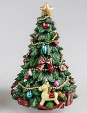 Carillon Albero di Natale Con Cavallo a Dondolo H.19cm FORMANO W20