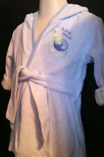 Carter's Just One Year Baby Boy Blue Bath Robe Size 0-9M Like Father Like Son