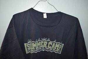NEW MOE. THE BAND Summer Camp 2011 Fest T-Shirt Mens XXL Bassnectar Girl Talk