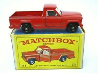 Matchbox Lesney No.71b Jeep Gladiator Pick-Up In Type 'E4' Series Box