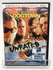 Lords of Dogtown (DVD, 2005, Unrated Extended Cut) Rare Widescreen