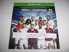 FIFA 14 Xbox One 1 DLC CODE ONLY - Ultimate Legends Team - No Game Included