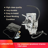 For Yamaha Warrior 350 YFM350 1987-2004 Carburetor ATV QUAD Carb New 87 89 01 03