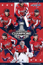 Washington Capitals 2018 STANLEY CUP CHAMPIONS 6-Player Commemorative POSTER