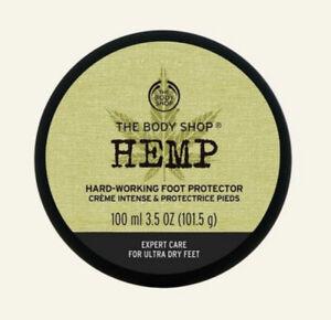 The Body Shop Hemp Hard Working Foot Protector Cream 100ml.