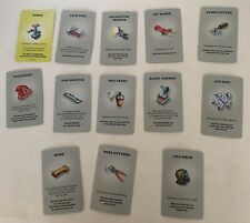 Break the Safe 2003 Set 13 Tool Cards Replacement Board Game Part Piece Co-Op