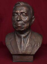 VERY RARE Soviet Rocket Scientist Hero Socialist Labor A.Makarov bronze bust