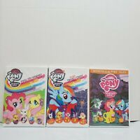 Lot of 3 Children's My Little Pony DVDs Spooktacular Spring Trick or Treat NEW